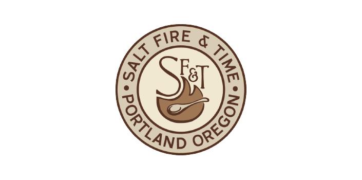 Salt Fire & Time Logo